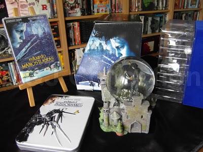 snow globe DVD packaging