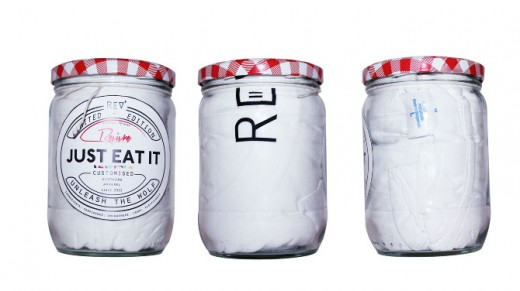 t-shirt in jars