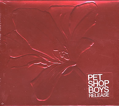 Pet Shop Boys Release CD foil packaging red