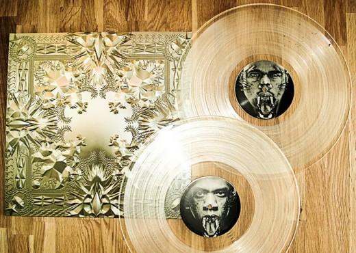 Kanye West Clear Vinyl