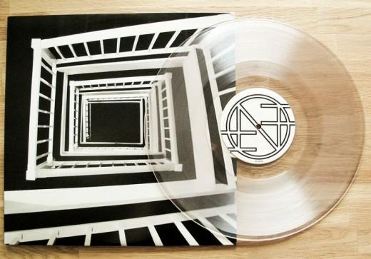 Vinyl record clear