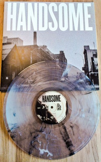 handsome clear vinyl record