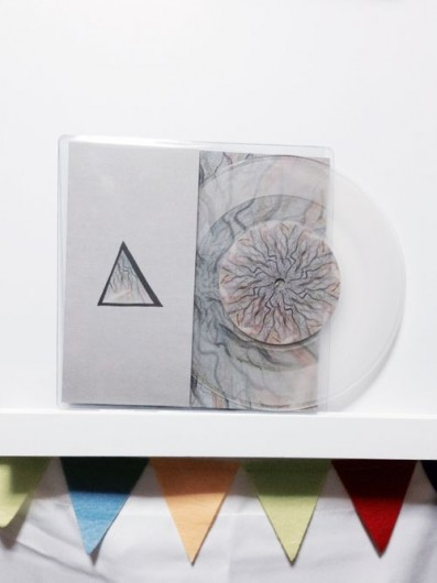 transparent vinyl record design