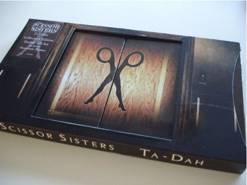 Scissor sisters CD slider case