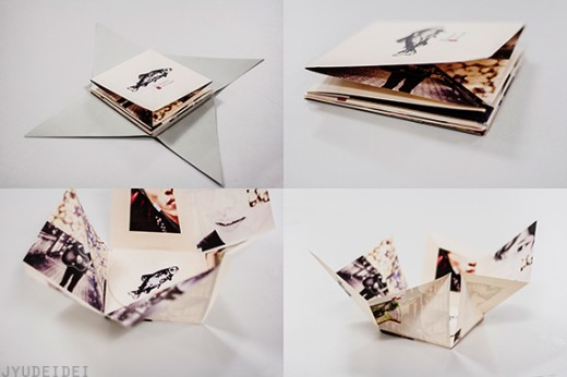 FOLDABLE CD PACKAGING