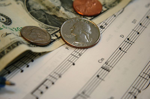 money from music 11