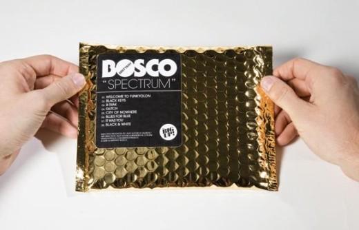 bosco gold foil cd packaging