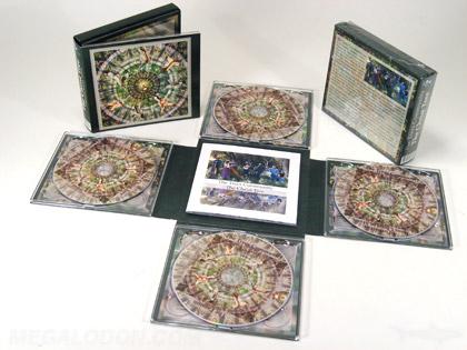 multi disc cross cd packaging