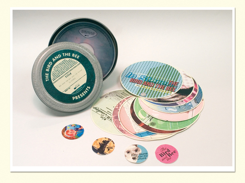 CD packaging tin can