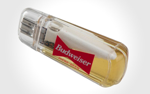 Liquid USB 2 0 Promo USB Drive Beer Floater 520x3251