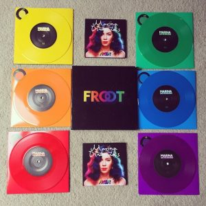 unique Vinyl Packaging froot scratch and sniff