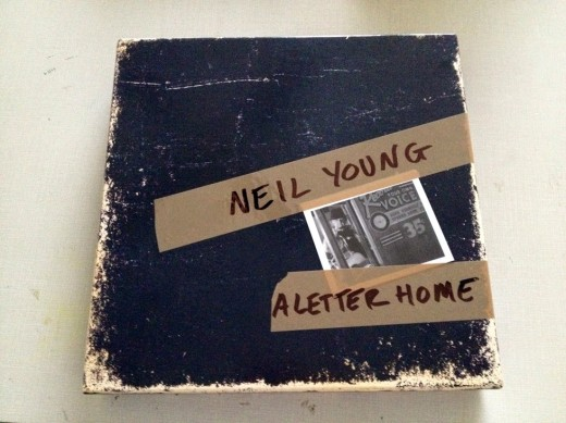 letter home neil young packaging