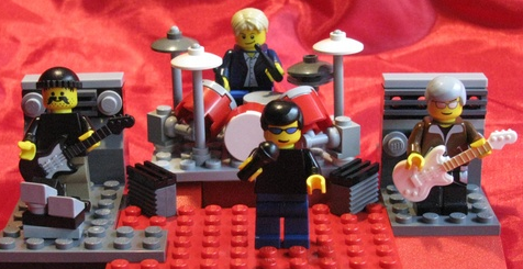 band merch ideas lego