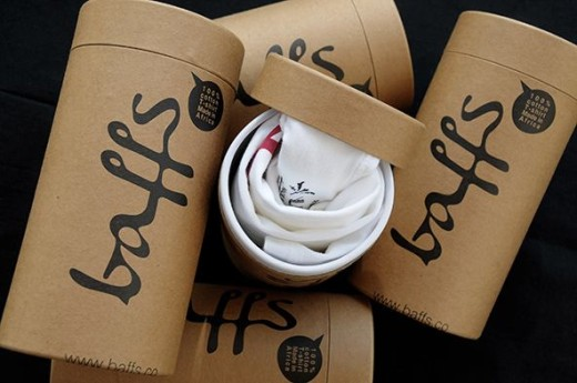t-shirt tube carton packaging