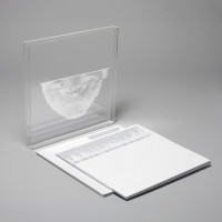 CD packaging with minimalist design- clear jewel case