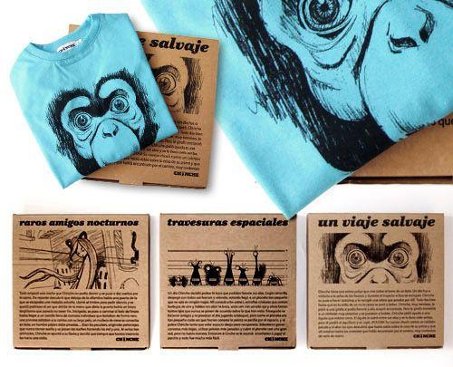 cardboard t-shirt box