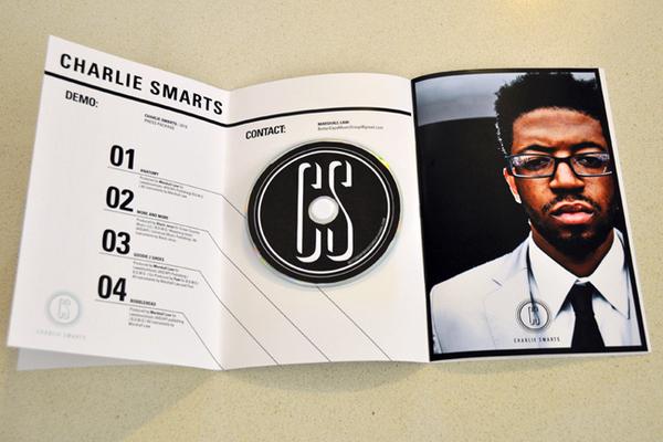 Charlie Smarts DVD demo reel case