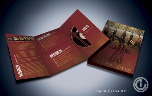 musician press kit and demo reel