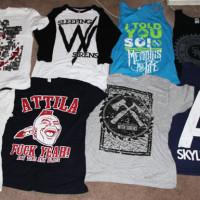 t-shirt band printing
