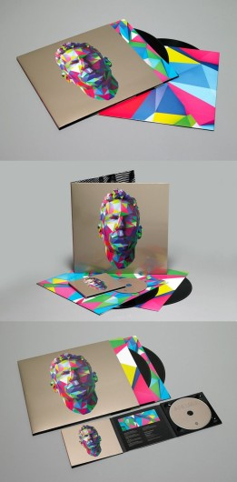 Jamie Lidell's self-titled album cover