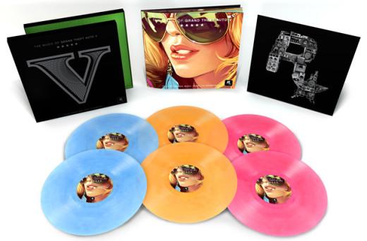 grand theft auto vinyl records