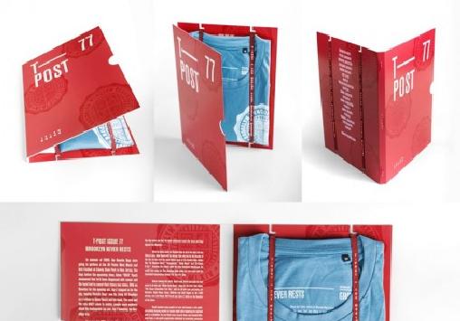 t shirt packaging USA