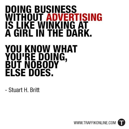 advertising tips by stuart britt