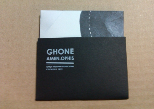 Ghone CD case poster