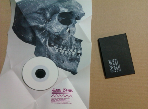 GHONE CD Packaging case-opened