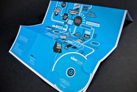 cd packaging poster design