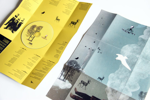 Radiator CD Packaging poster