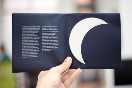 Cuarto Cresiente CD packaging case