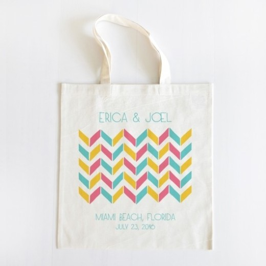 Practical wedding giveaways-eco bag
