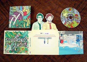 pop up design CD case