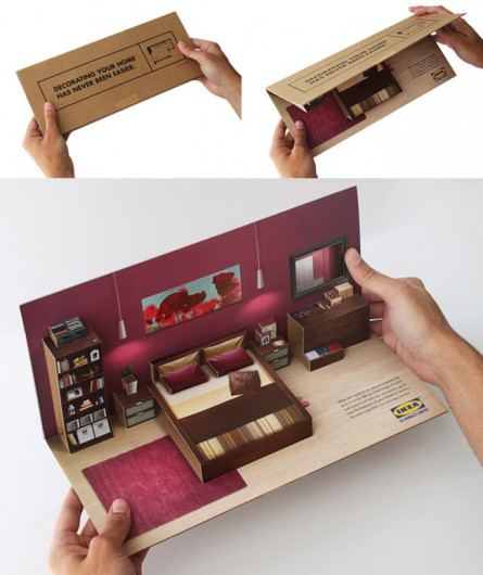 creative pop up 3d brochure design