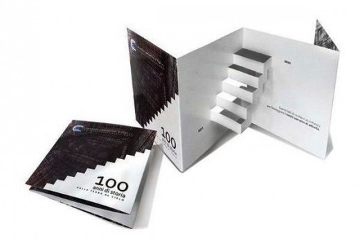 pop-up-brochure promotional material
