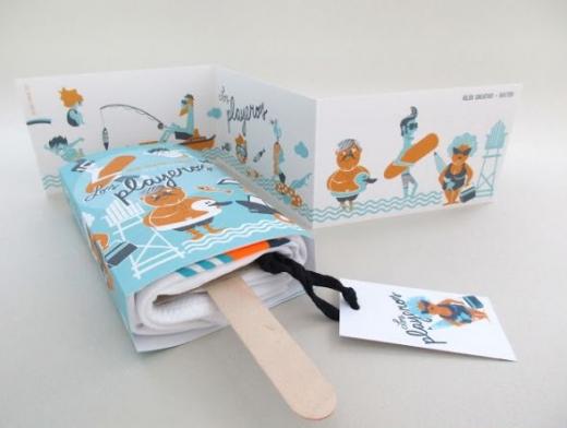 popsicle t-shirt packaging design