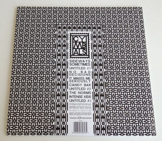 black and white vinyl packaging