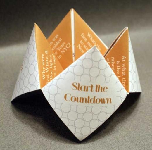 fortune card event invite
