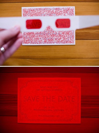 3D party invitation