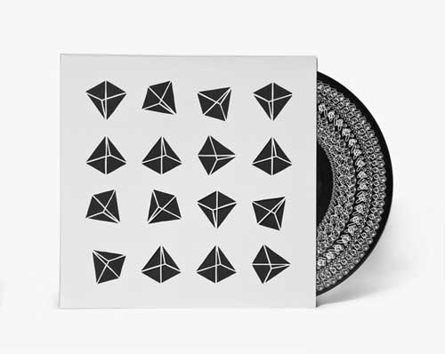 black and white vinyl packaging
