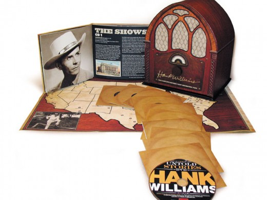 hank williams box set grammy winner