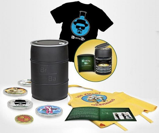 Breaking Bad DVD set