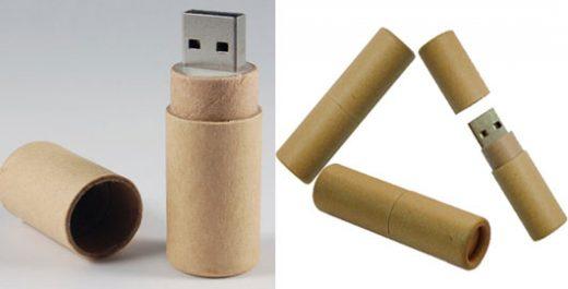 eco USB flash drive design