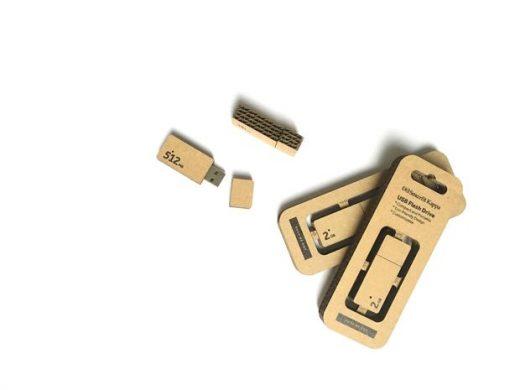 cardboard USB  eco-friendly