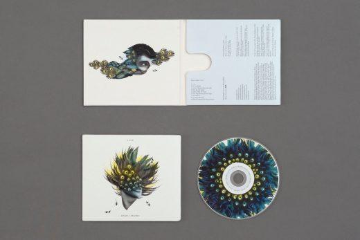 Love by Marco Argiro CD packaging