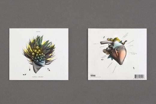 Love by Marco Argiro sleeve artwork