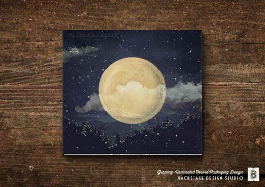 CD Packaging: Long Night Moon