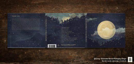 CD Packaging: Long Night Moon digipak artwork