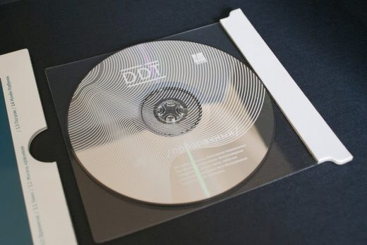 CD case Transparent by DDT